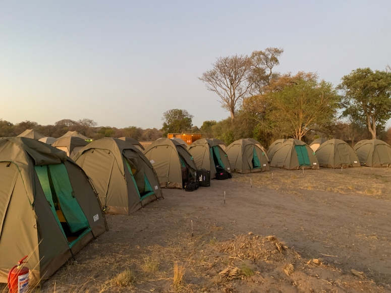 Dirico tented camp